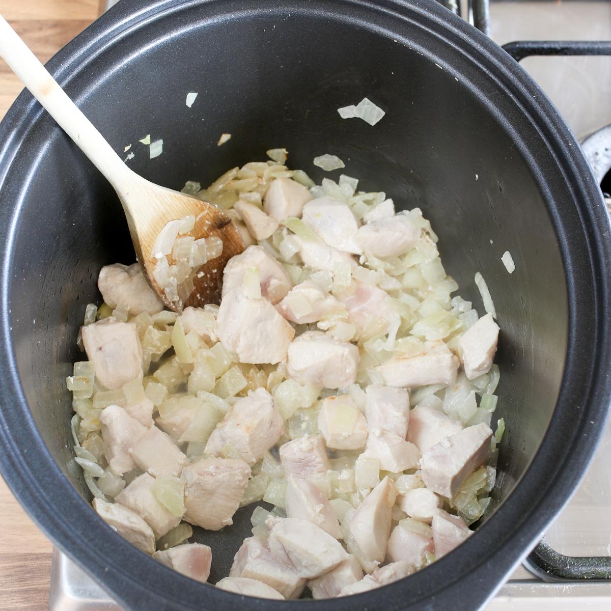Spicy crockpot chicken curry3