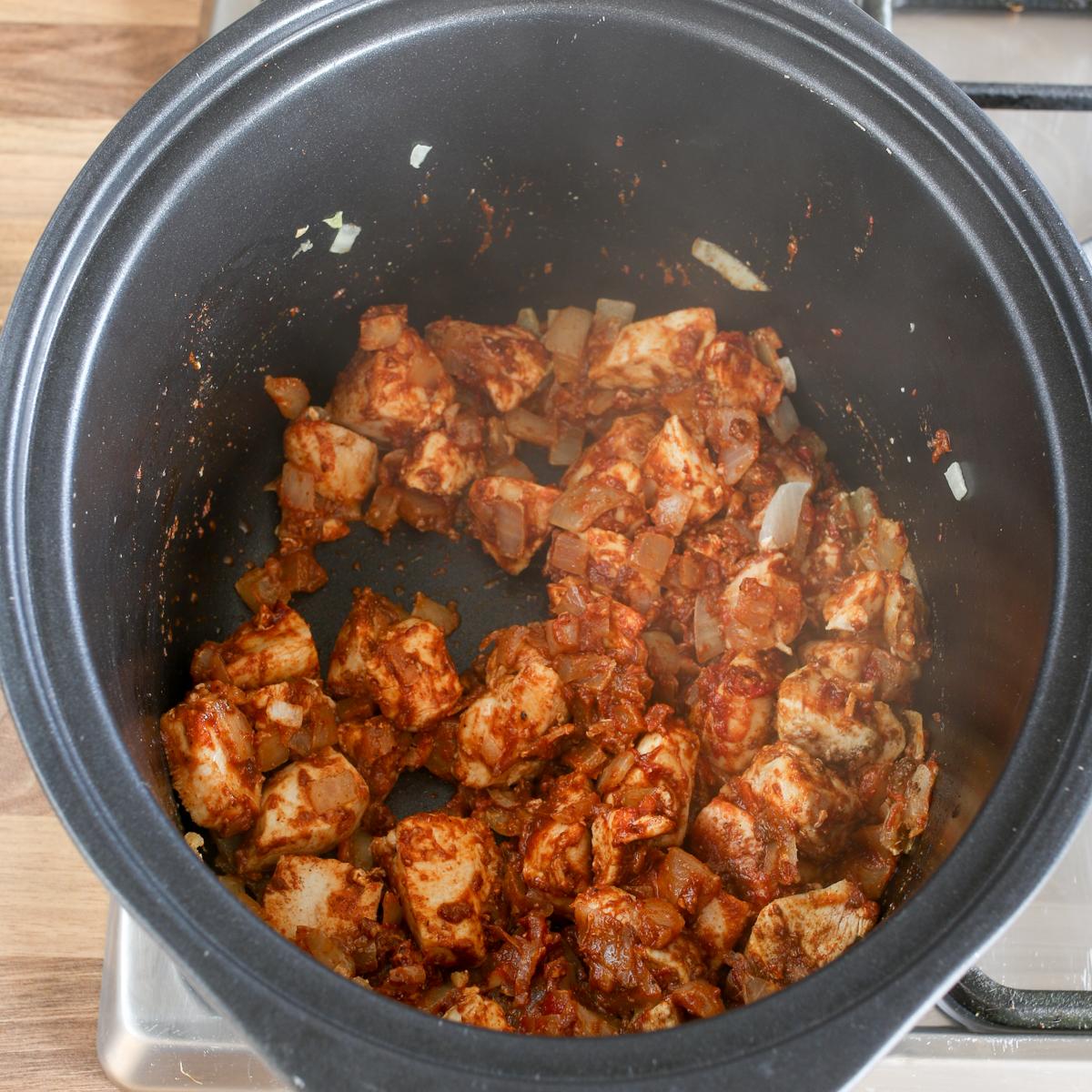 Spicy crockpot chicken curry6