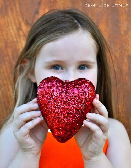 Valentine Glitter Heart