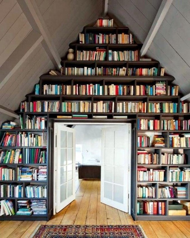book-wall