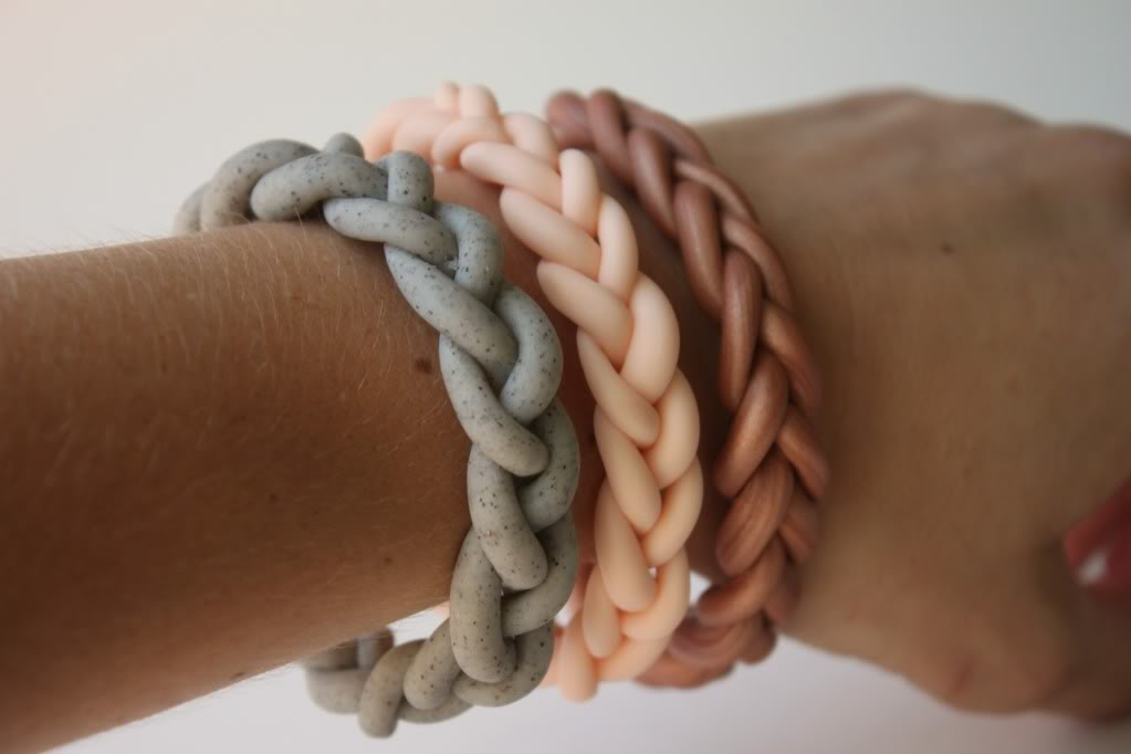 braided-clay-bracelet
