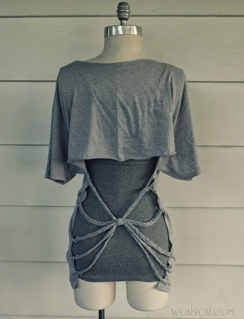Simple But Creative Ways To Transform Old T Shirts