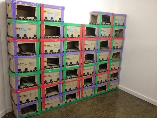 cardboard-box-maze