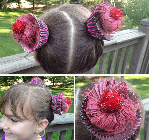 Great Crazy Hairstyles For Quot Wacky Hair Day Quot At School