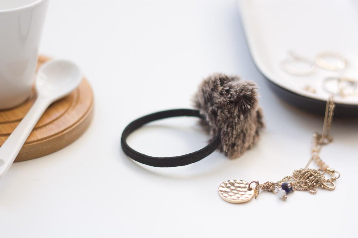 diy fur headband set 2