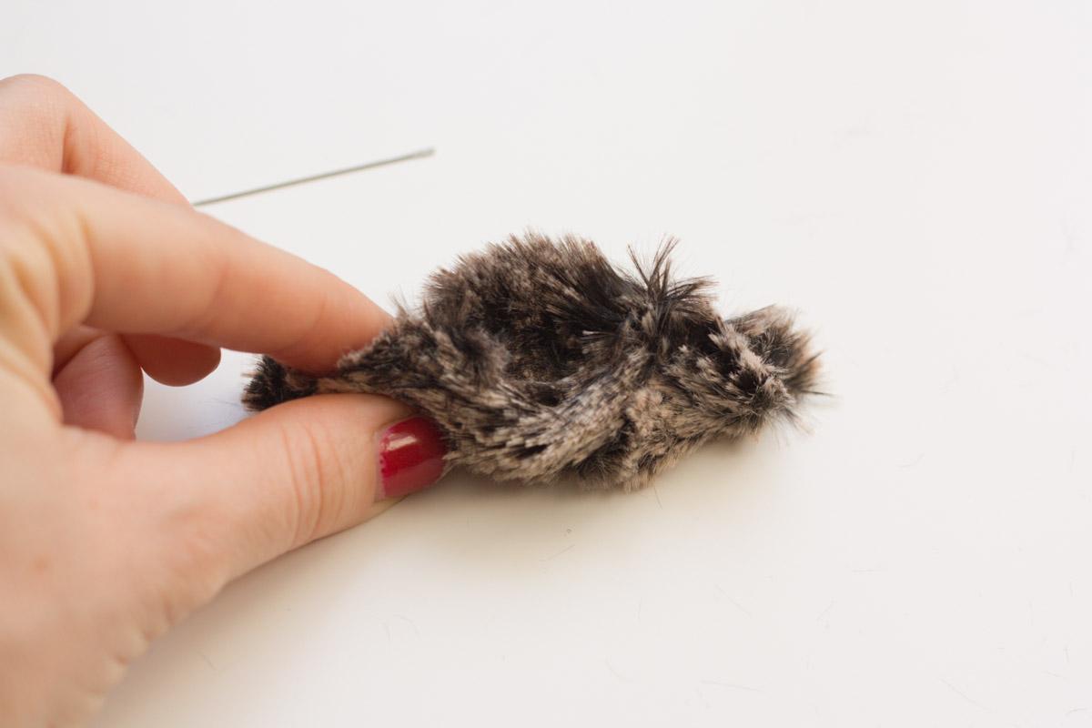 diy fur headband sweet