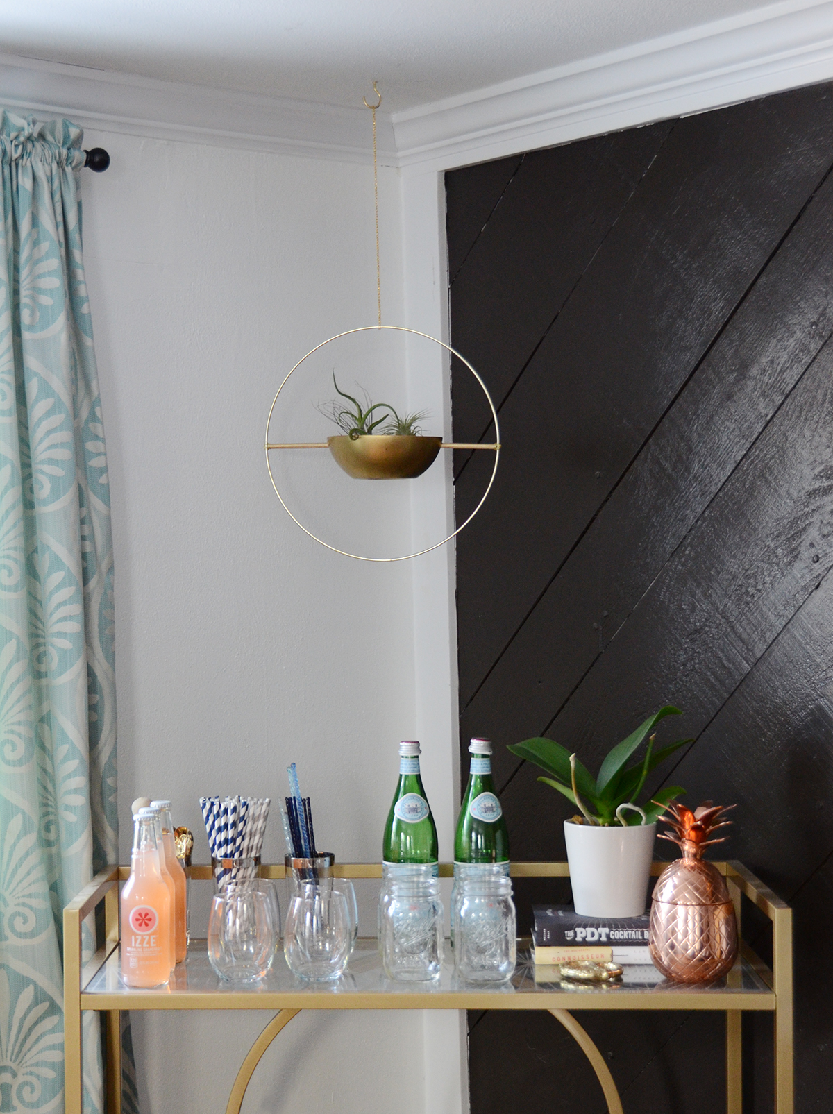 hanging airplant planter urban outfitters knockoff 13