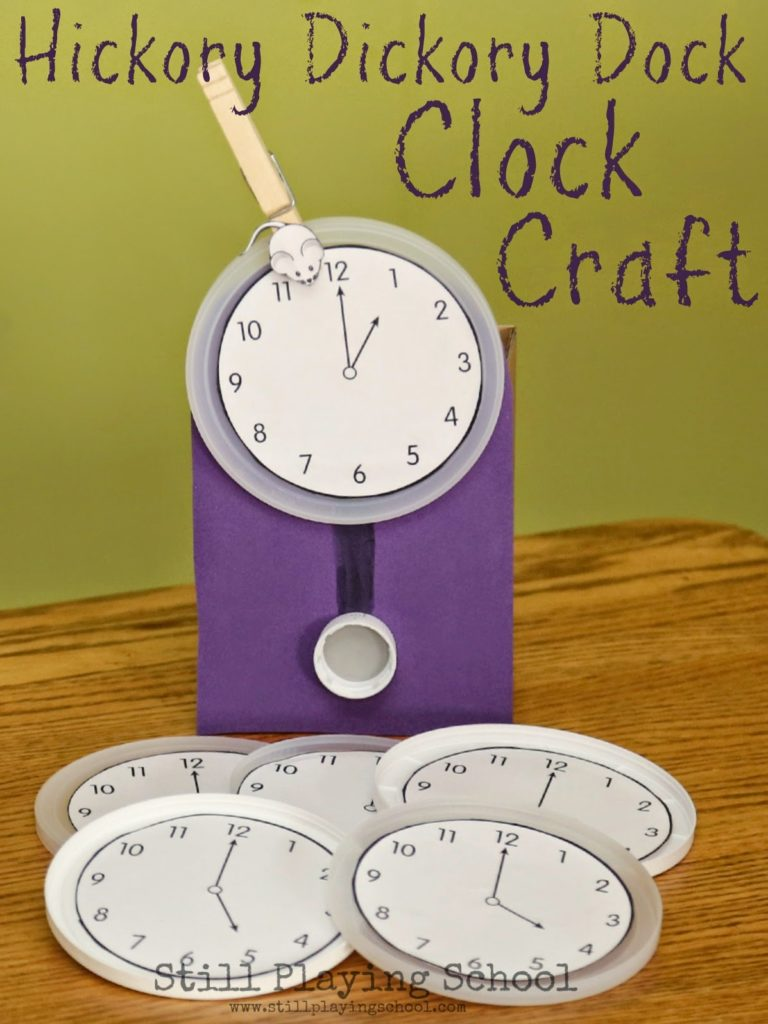hickory-dickory-dock-craft