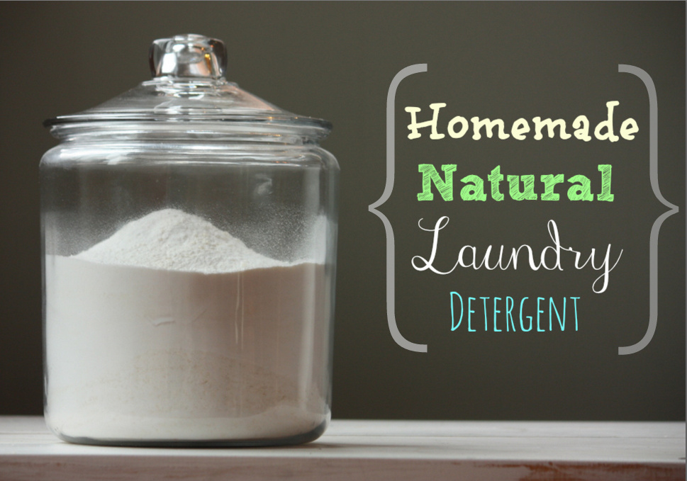 How To Make Your Own Natural Laundry Detergent Powder
