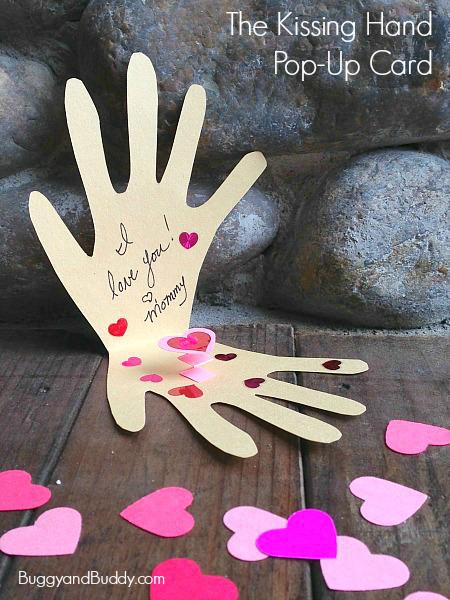 kissing-hand-diy card