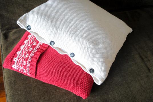 sweater-pillows