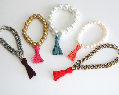 thread-tassel-bracelet