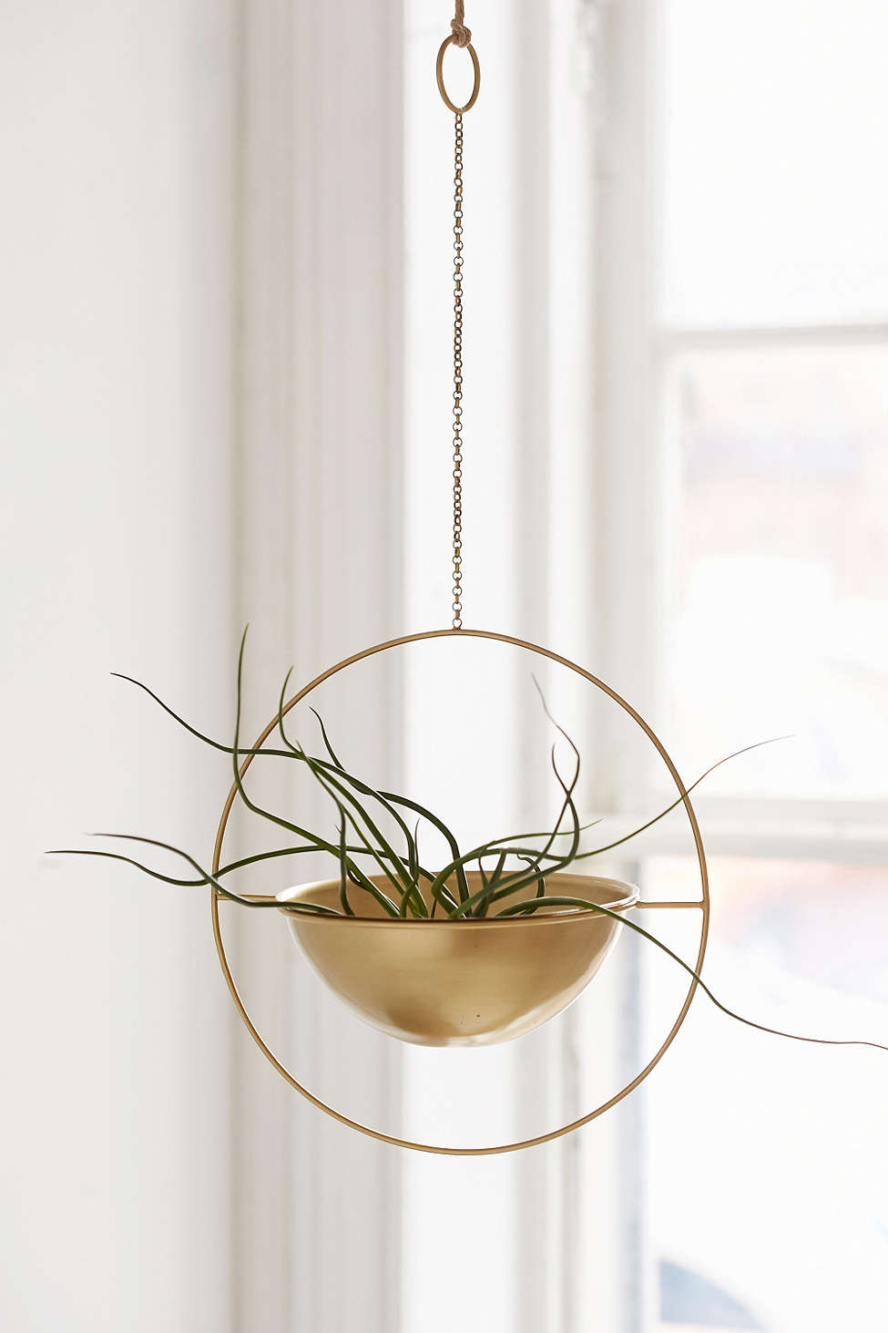 Urban Outfitters Knockoff Hanging Gold Planter