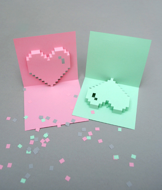 Give Out Some Handmade Love With These 21 DIY Valentines Day Cards – Pop Up Valentines Day Card