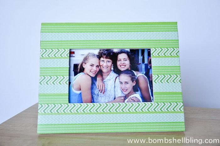 washi-tape-frame