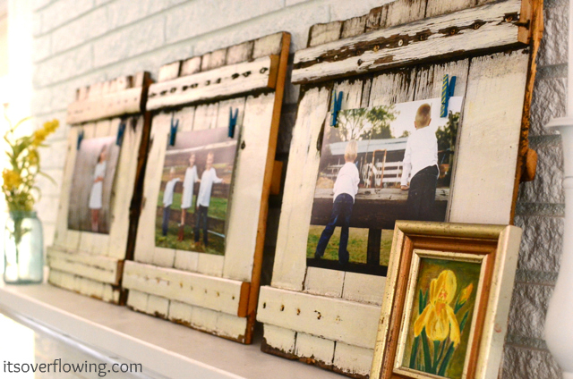 wooden-clothespin-frames