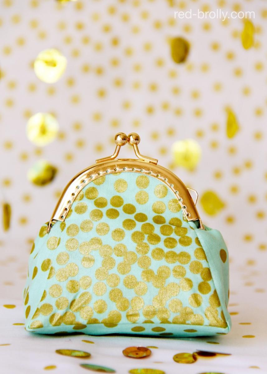 17 coin purse gold