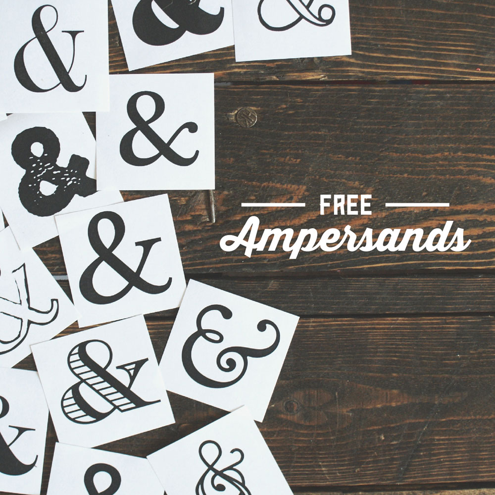 2 free ampersands