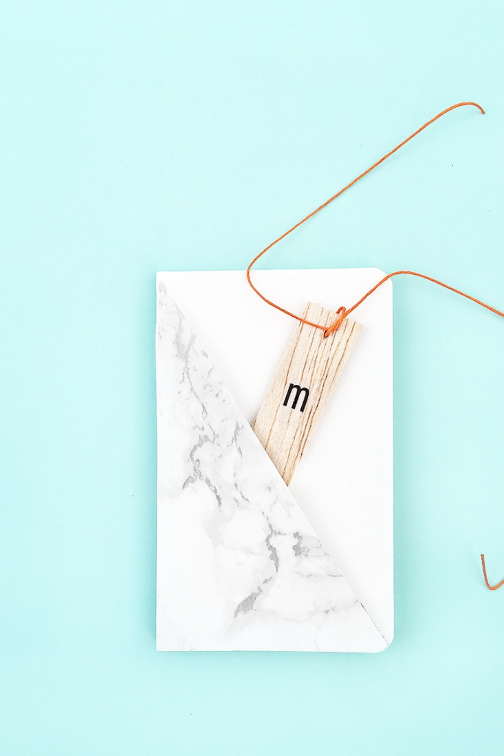 5 marble mini journals
