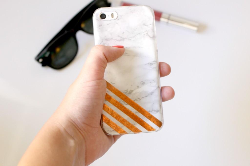 6 diy marble phone case