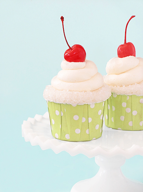 Appletini cupcakes bakers royale