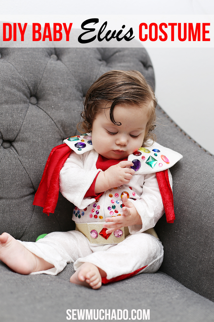 baby elvis costume diy