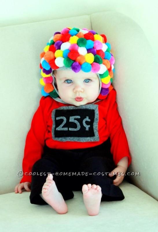 Baby gumball costume diy