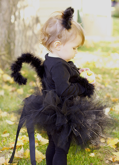 Black cat diy costume