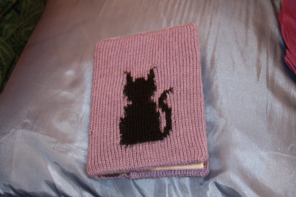 Black cat notebook cover