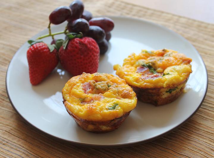 Breakfast casserole muffins