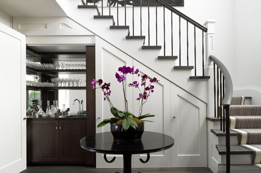 Creative Ways To Put The Space Under Your Stairs To Good Use
