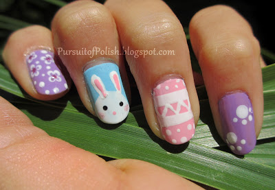 Bunny paw nails