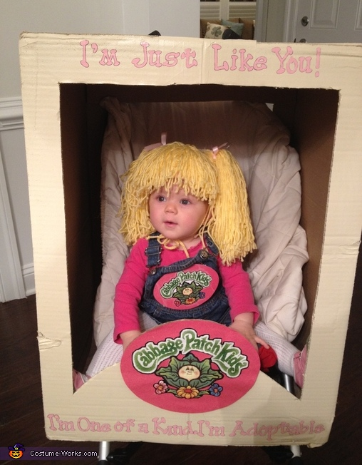 Cabbage patch kids diy costume