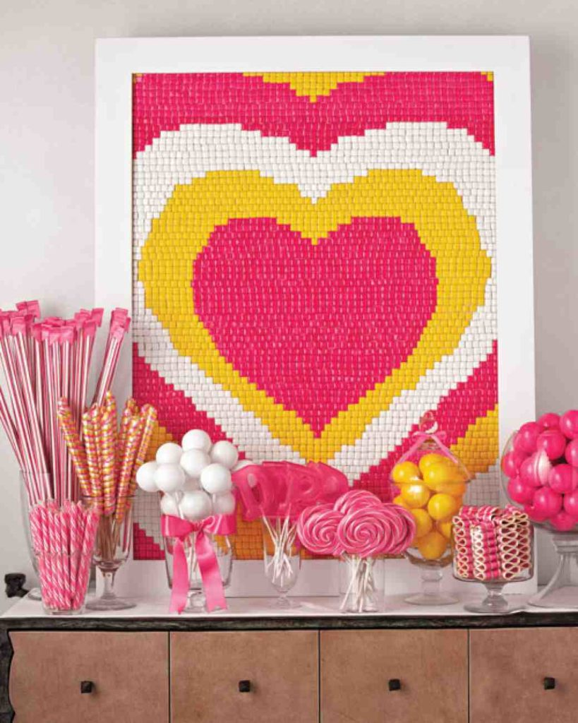 Candy themed bridal shower