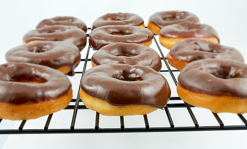 Chocolate Glazed Donuts