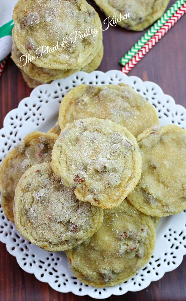 Cinnamon chip churro cookies