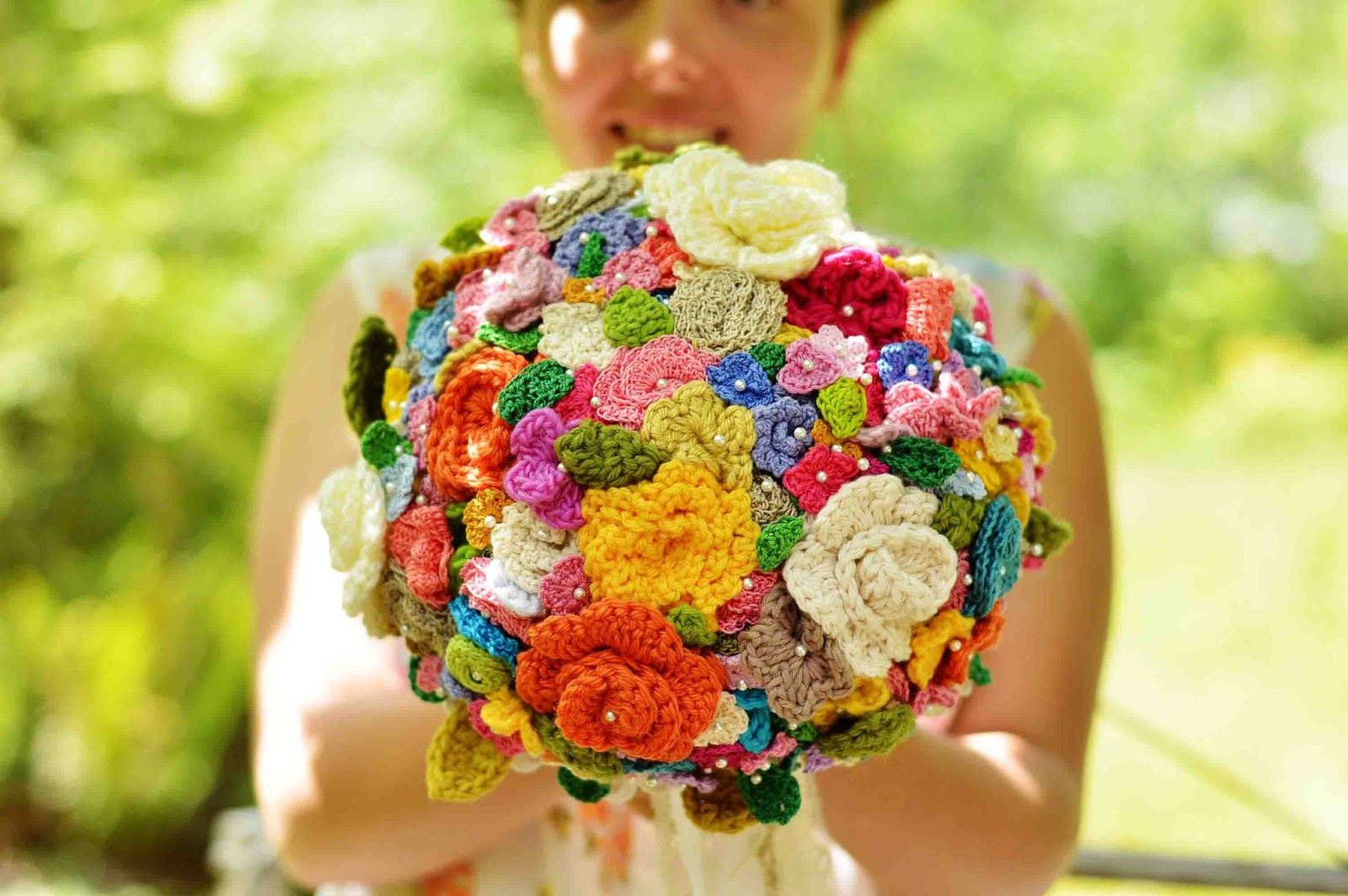 crochet wedding bouquet crocheted flowers that will bring your room to 3191