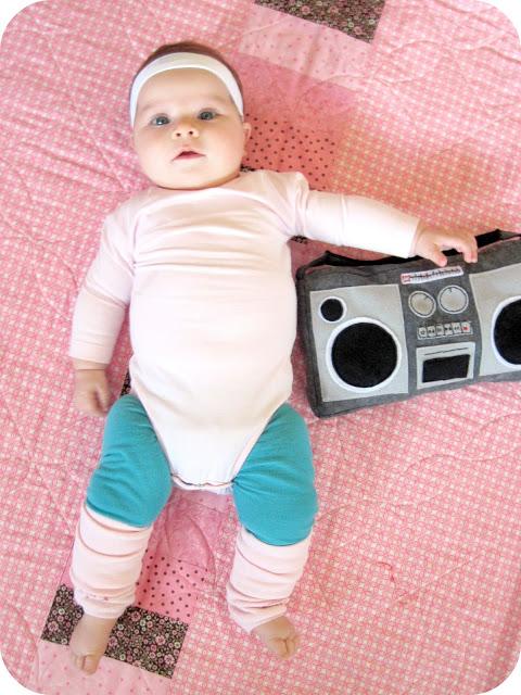 Diy baby aerobics costume