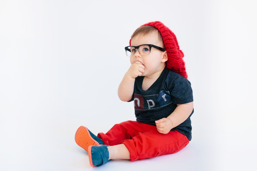Diy baby hipster costume