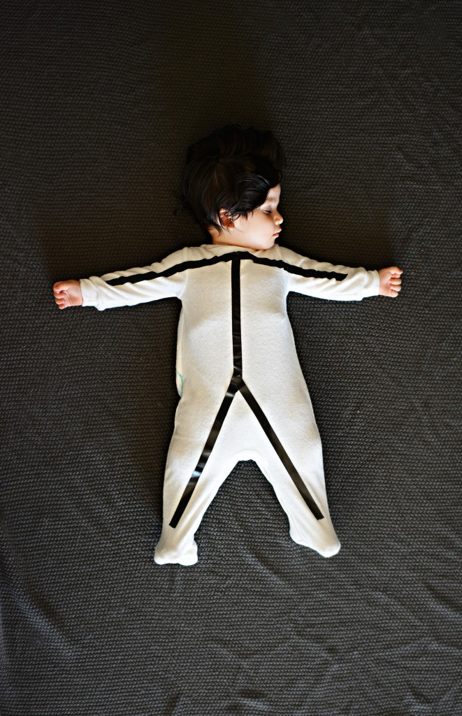 Diy baby stick figure costume