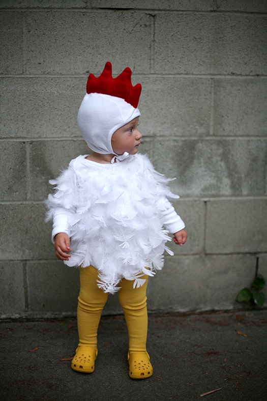 Diy chicken halloween costume