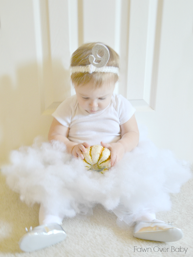 Diy cloud 9 baby costume