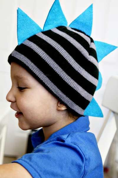 Diy dino hat