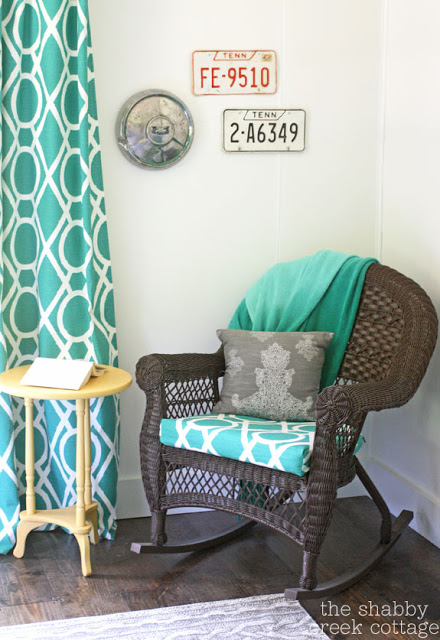 Diy easy chair cushion
