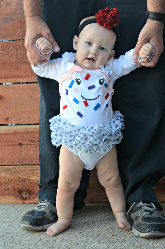 Check out these 50 creative baby costumes for all kinds of events diy infant cupcake costume an easy way for baby to dress up solutioingenieria Gallery