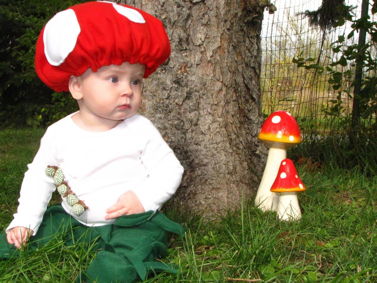 Diy mushroom costume
