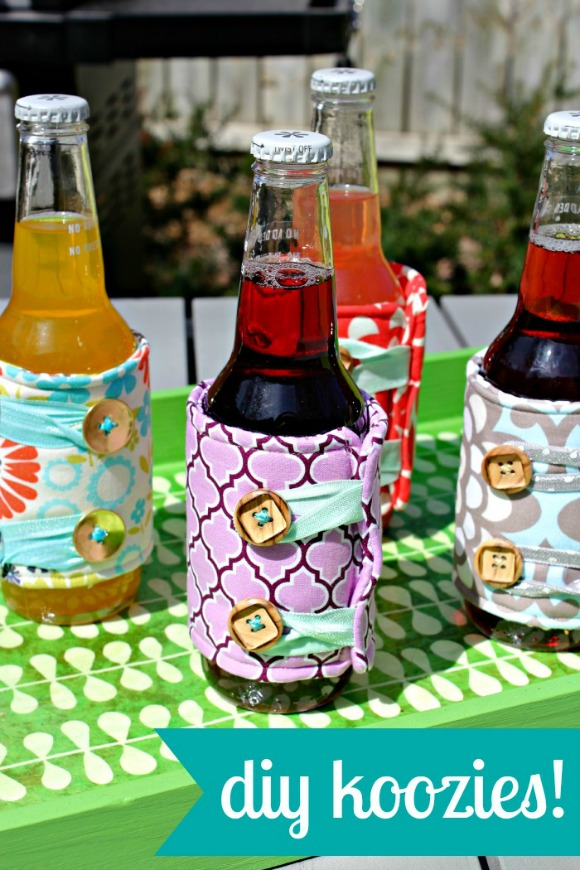 Diy sewing koozies