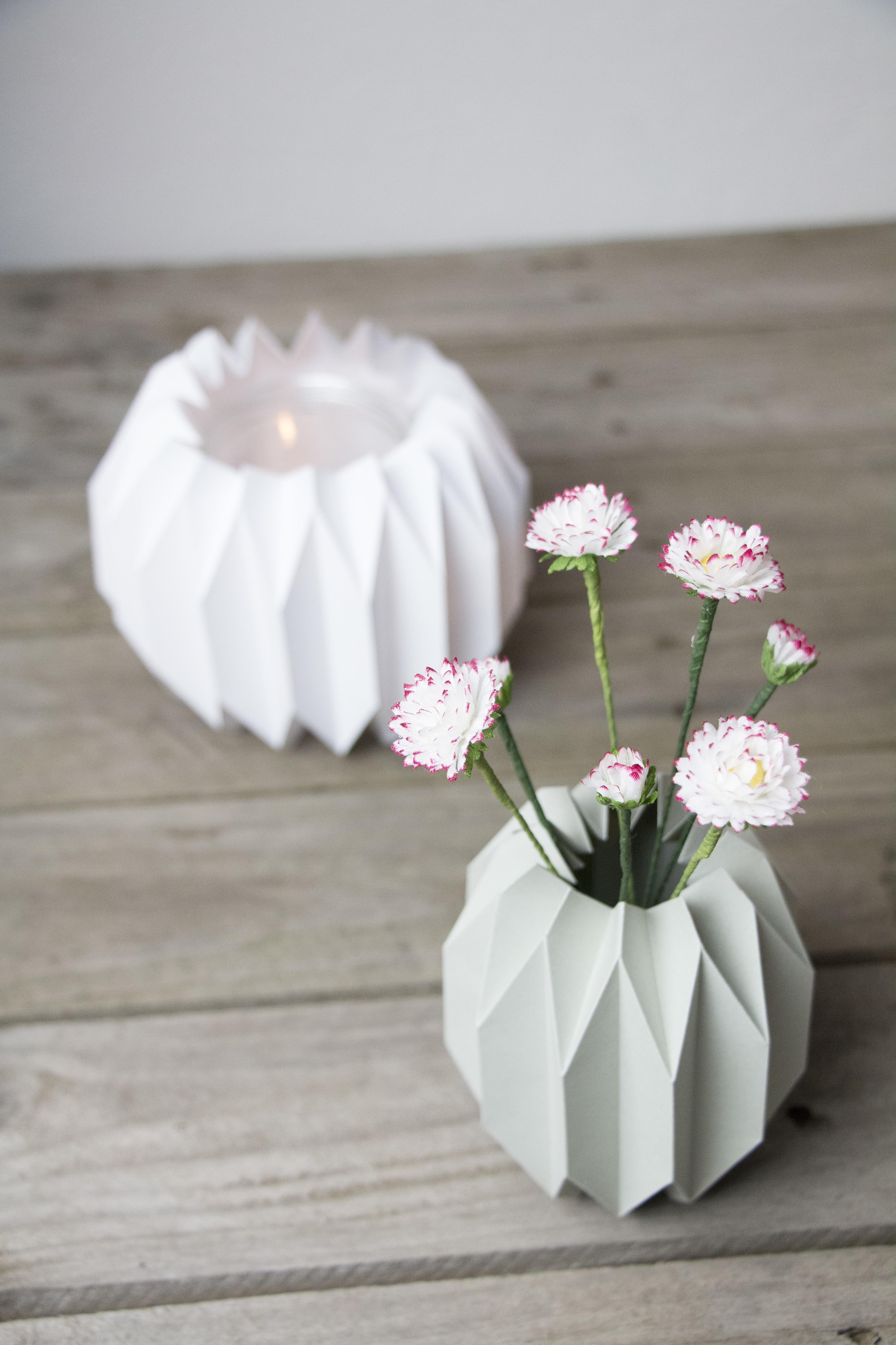 DIy Geo Vase