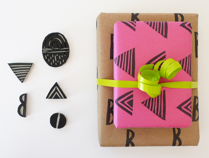 Personalize your wrapping paper with these 25 diy designs diy gift wrap mightylinksfo