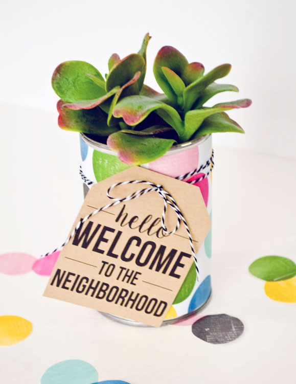 Easy diy housewarming gift